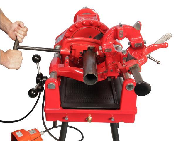 power threading machine