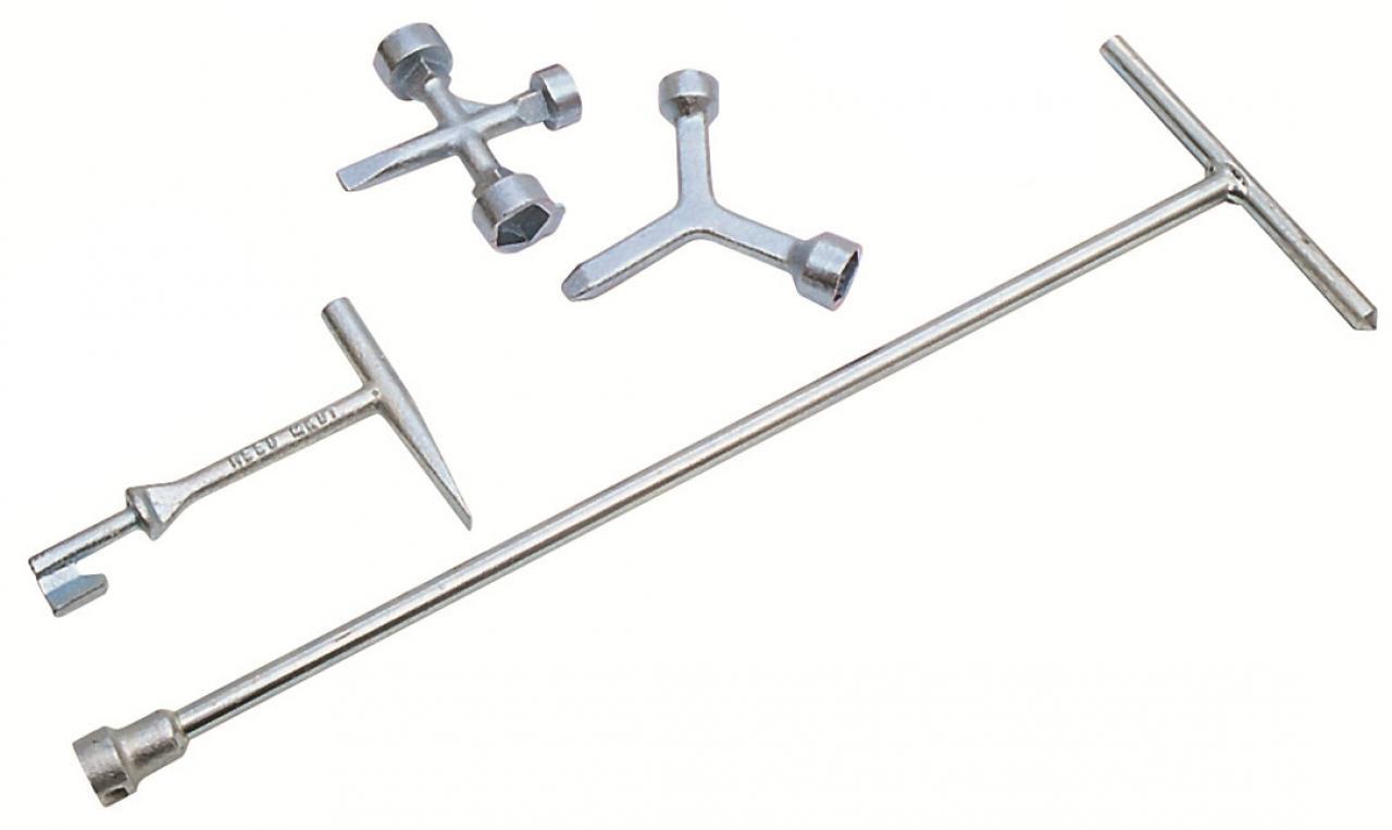 Meter Key Valve Tool 4-in-1 Combination Plumbing Tool