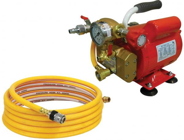 Electric Hydrostatic Test Pumps Reed Manufacturing