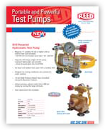 Hydrostatic Test Pumps - DPHTP, EHTP, HTP  #01156