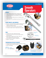 Smooth Operator: Wrenches and Corp Stop Sockets #01174