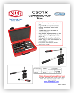 CSO1R Copper Shut-Off Tool
