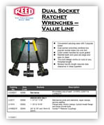 Dual Socket Ratchet Wrenches - VALUE LINE