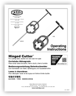 Hinged Cutter™ Operator's Manual