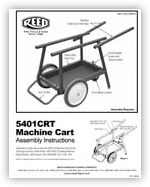 5401CRT Assembly Instructions