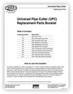 Universal Pipe Cutter Replacement Parts