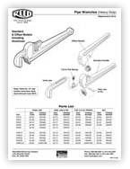 Reed ARWO18 18-Inch 90 Offset Aluminum Pipe Wrench
