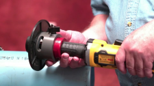 Cordless Portable Pipe Beveler